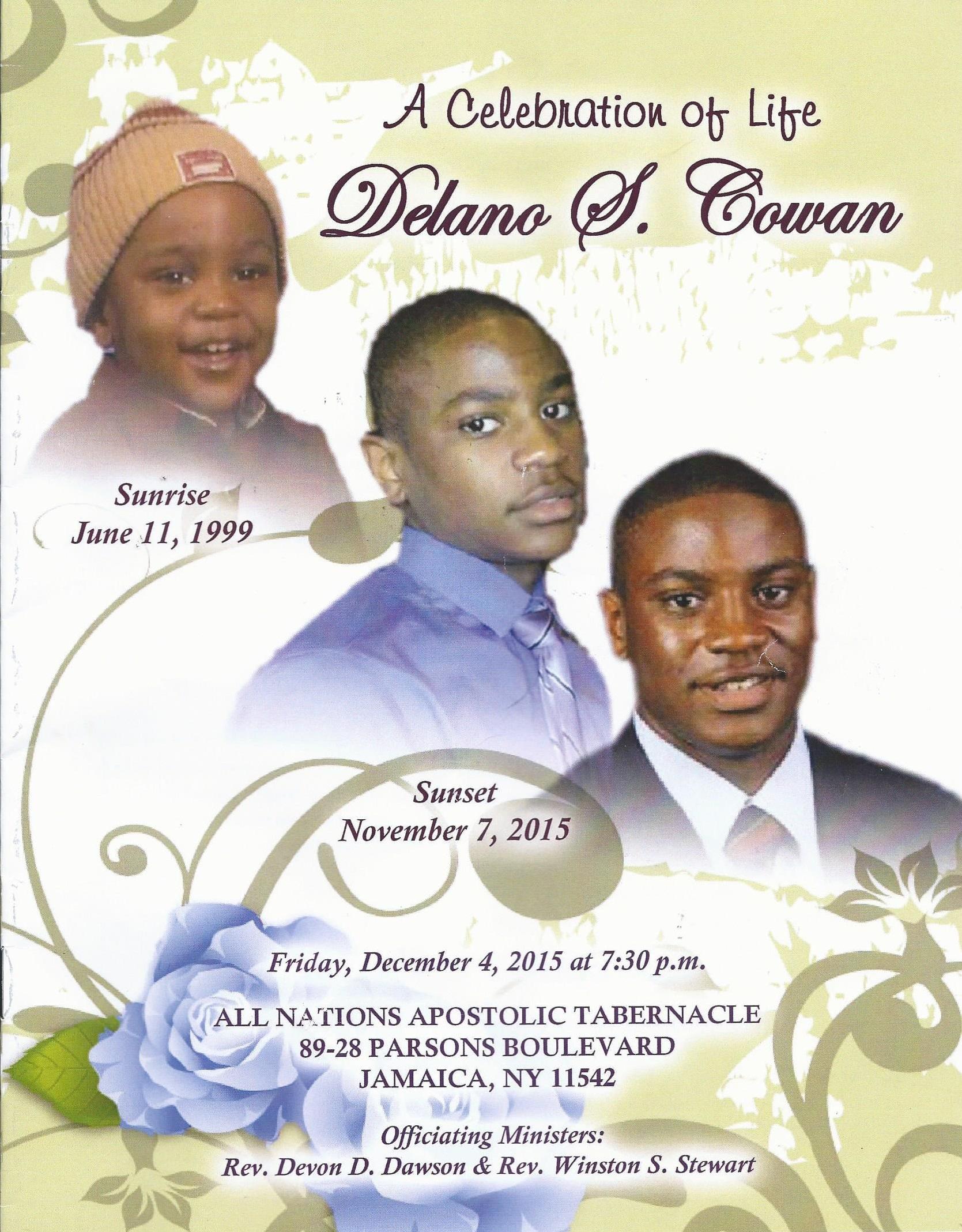 Delanos Funeral